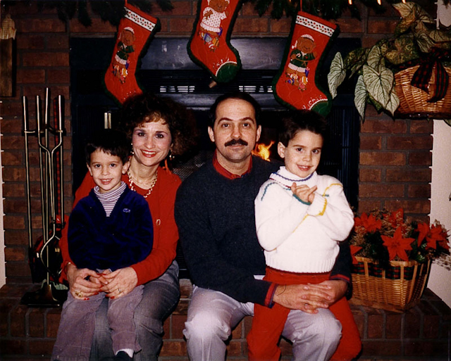 Ralph de la Vega with his wife, Maria, and our sons, David and Mark