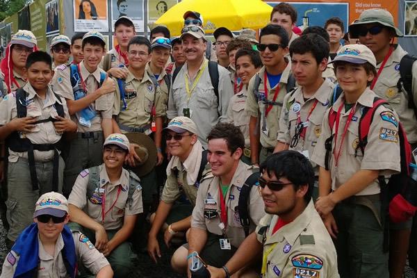 Ralph de la Vega Boy Scouts of America